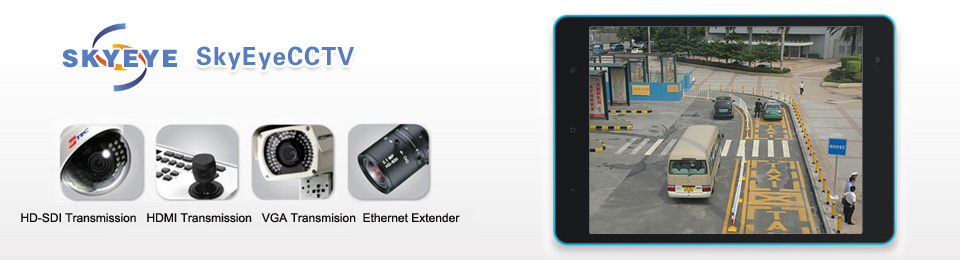 HD-SDI extender, HDMI extender, VGA extender, Ethernet extender